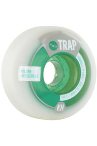 Trap Skateboards Heuberger Purebred Dogs 52.5mm Rollen 4er Pack  (white green)