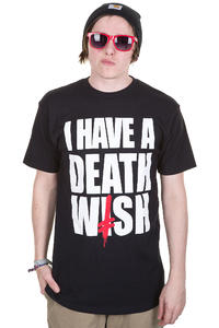 Deathwish I Have A Deathwish T-Shirt (black)
