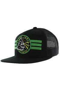 Shake Junt Lightning Trucker Cap (black green)