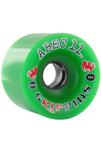 ABEC 11 Grippins 70mm 84a Rollen 4er Pack  (green)