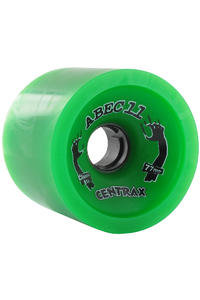 ABEC 11 Classic Centrax 77mm 81a Wheel 4er Pack  (green)