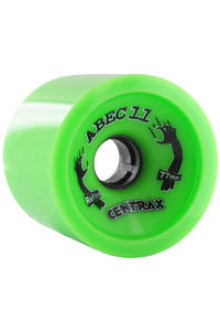 ABEC 11 Centrax 77mm 80a Rollen 4er Pack  (lime)