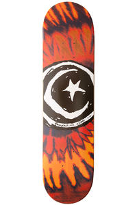 Foundation Star &amp; Moon 7.875&quot; Deck (tye dye red)