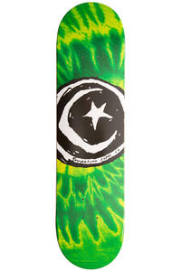 "Foundation Star & Moon 8"" Deck (tye dye green)"