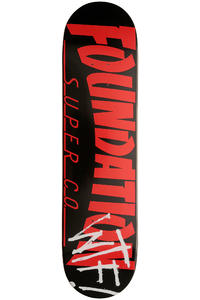 Foundation Thrasher WTF 8&quot; Deck (black)