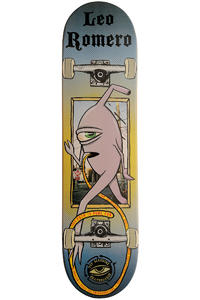 "Toy Machine Romero Sect Port Hole 8"" Deck (blue)"