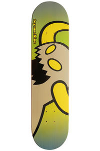"Toy Machine Vice Monster 8"" Deck (yellow green)"