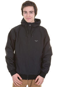 Cleptomanicx Burner Night Camo Jacke (black)