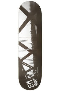 EMillion NYC Brooklyn Train 8.125&quot; Deck (black white)