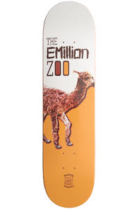 "EMillion Meet and Feed Series Lama 7.75"" Deck (white brown)"