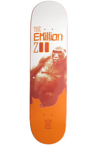 "EMillion Meet and Feed Series Ape 8"" Deck (white orange)"