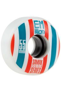 EMillion Samak 55mm 78a Wheel 4er Pack  (white)