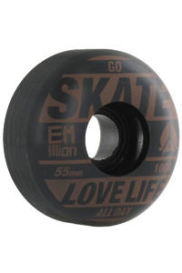 EMillion Go Skate 55mm Rollen 4er Pack  (brown black)