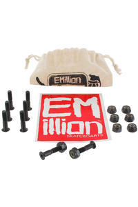 "EMillion Bolt Ya Nuts 7/8"" Kreuz Bolt Pack inkl. Beutel  (black)"