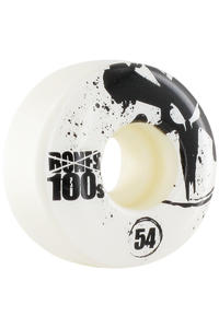 Bones 100&#039;s-OG #12 Slim 54mm Rollen 4er Pack  (white)