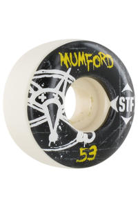 Bones STF Mumford Oh Gee 53mm Wheel (white black)