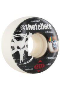 Bones STF Fellers Hashtag 52mm Wheel 4er Pack  (white)