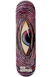 "Toy Machine Swirl Eye 8.25"" Deck (purple)"