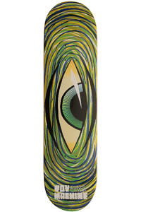 "Toy Machine Swirl Eye 8"" Deck (green)"