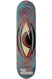 Toy Machine Swirl Eye 7.75&quot;&quot; Deck (blue)