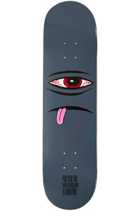 Toy Machine Bloodshot Sect Face 8.125&quot; Deck (black)