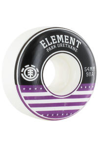 Element Varsity 54mm Wheel 4er Pack  (purple)