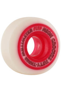 Flip Neon Grooves 53mm Rollen 4er Pack  (red)