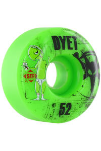 Bones STF-Dyet Whities 52mm Rollen 4er Pack  (green)