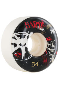 Bones STF Bartie Scurvy 54mm Wheel 4er Pack  (white)