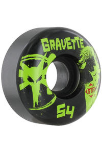 Bones STF Gravette T&A 54mm Wheel 4er Pack  (black)