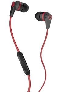 Skullcandy Ink'd 2 Headphones mit Mikro  (black red)