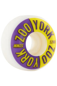 Zoo York Two Tone 52mm Rollen 4er Pack  (blue yellow)
