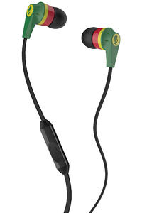 Skullcandy Ink&#039;d 2 Headphones mit Mikro  (rasta)