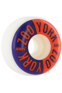 Zoo York Two Tone 54mm Rollen 4er Pack  (blue red)