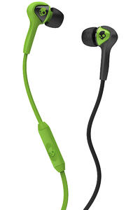 Skullcandy Smokin Buds Headphones mit Mikro  (black lurker green)