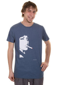 Forvert Easy-Leasing T-Shirt (blue melange)