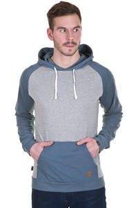 Forvert Charles Hoodie (grey melange blue melange)