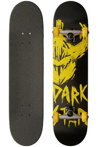 Darkstar Asylum 7.75&quot; Complete-Board (black yellow)