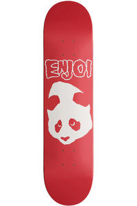 "Enjoi Doesnt Fit R7 7.625"" Deck (red)"