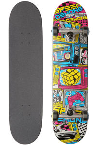 Speed Demons SD TV 7.5&quot; Complete-Board (cyan magenta yellow)