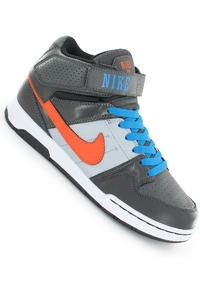 Nike Mogan Mid 2 Schuh kids (midnight fog elec org photo blue)
