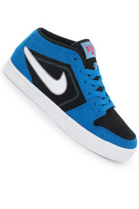 Nike Ruckus Mid LR Shoe (photo blue white black)