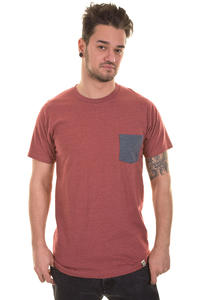 SK8DLX Rocket T-Shirt (heather red)