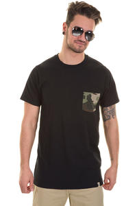 SK8DLX Rocket T-Shirt (black camo)