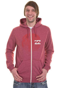 Billabong Hightide Zip-Hoodie (red)