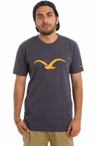Cleptomanicx Möwe T-Shirt (heather dark navy)