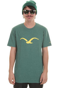 Cleptomanicx Möwe T-Shirt (heather alpine green)