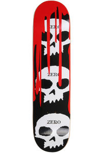 "Zero 3-Skull Blood Black Classic 7.75"" Deck (black)"