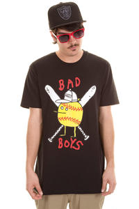 Cleptomanicx Bad Boys Zitrone T-Shirt (black)