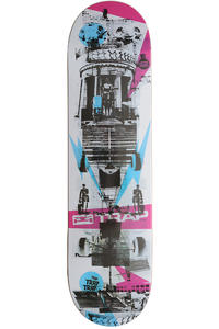 Trap Skateboards Street Series Kunsthalle 8.125&quot; Deck (multi)